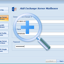 Add Live Exchange server Mailboxes