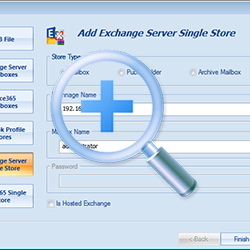 Add Single Live Exchange server mailbox.